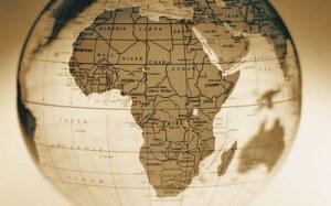 carte monde afrique