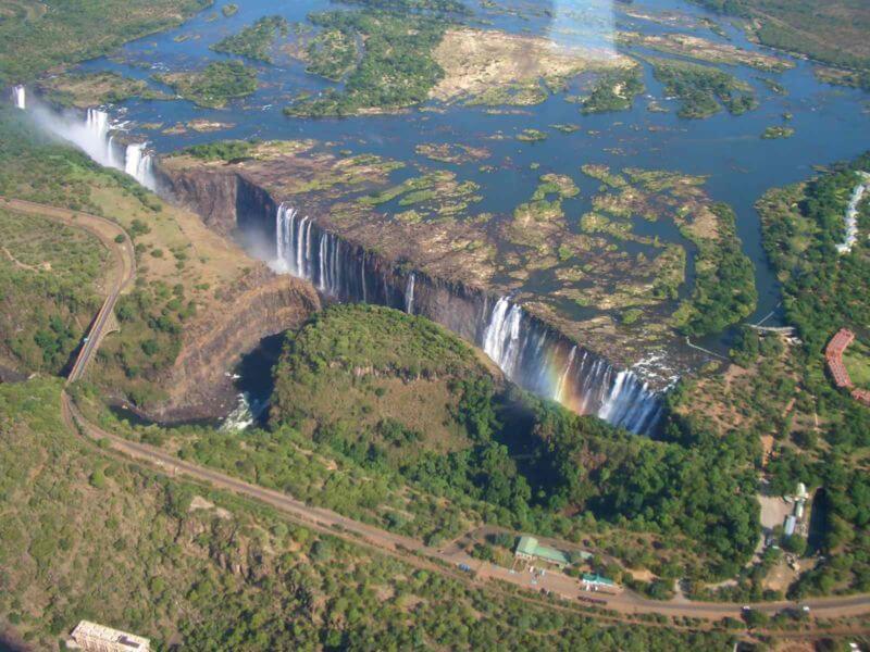 Les Chutes Victoria, magnifiques cascades à la frontière du Zimbabwe et de la Zambie